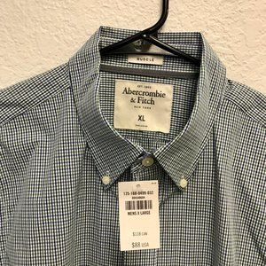 NWT - Abercrombie & Fitch Muscle Fit Button Down